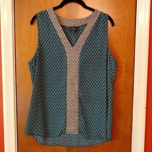 Stitch Fix Market & Spruce Jetson blouse, EUC, L